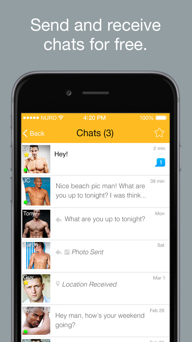 Ios dating chat app