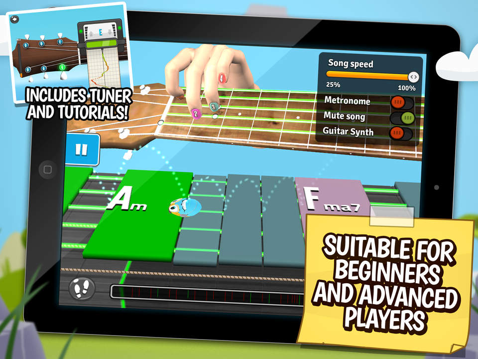 Guitarbots The Ultimate Free Learning Game To Play Guitar Tab