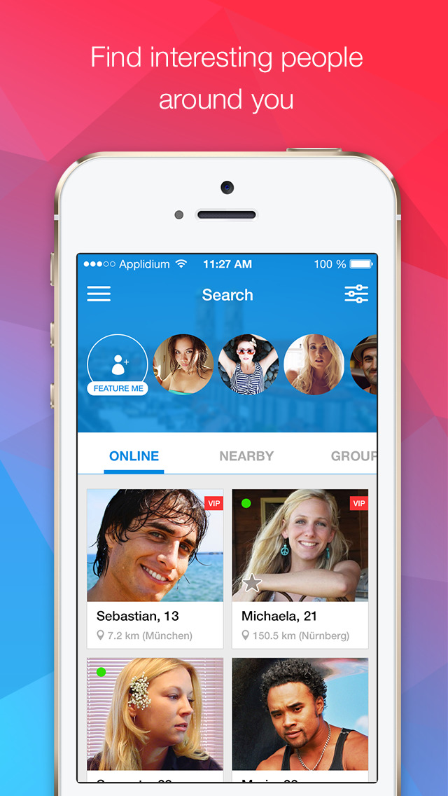 Find Singles Near You App