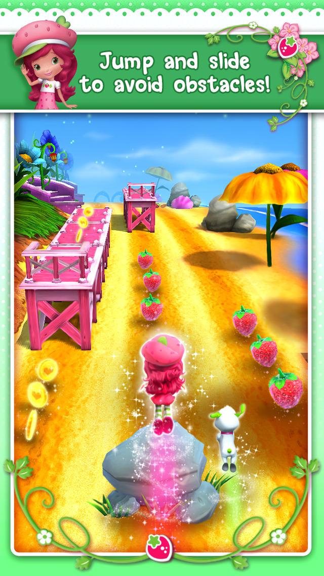یاری بۆ ئهندرۆید Strawberry Shortcake BerryRush