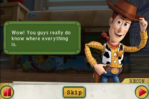 Toy Story 3: Operation Camouflage screenshot #2