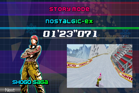 Alpine Racer screenshot #2