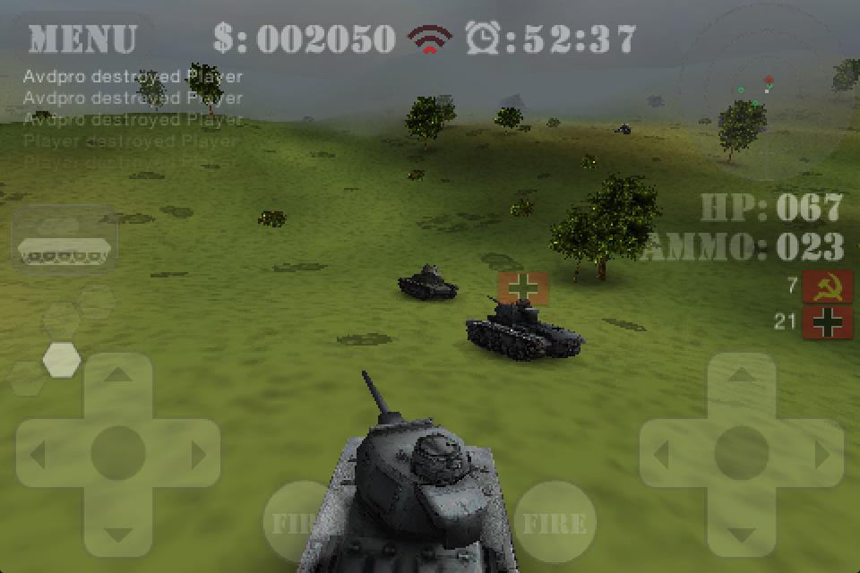 BattleZone 3D King of the Hill Screenshot