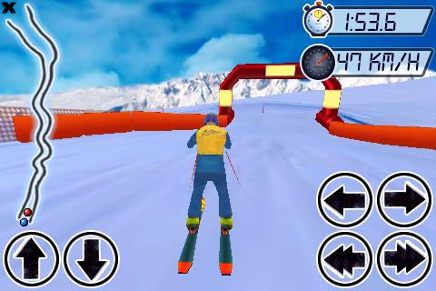Alpe d'Huez SkiCross Screenshot