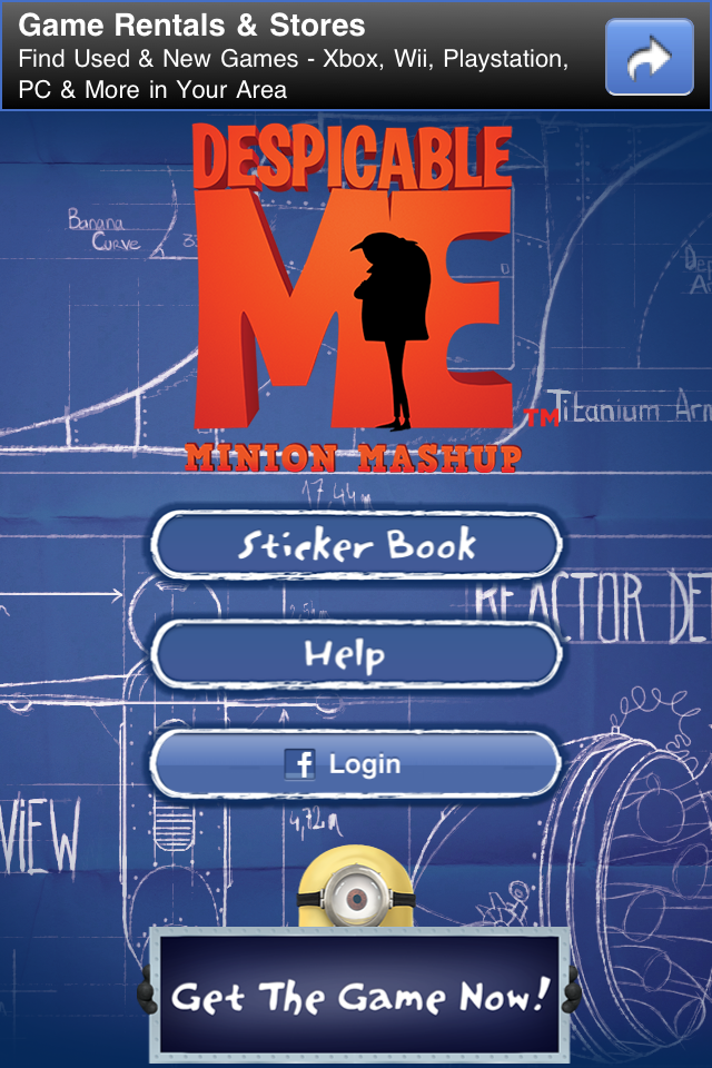 Despicable Me: Minion Mashup screenshot #5