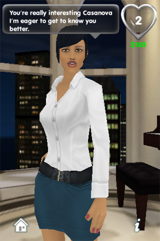 My Virtual Girlfriend Lite Screenshot