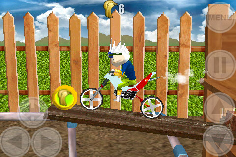 Space Bikers Lite screenshot #1