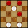 Simple Checkers Icon