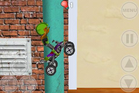 Space Bikers Lite screenshot #2