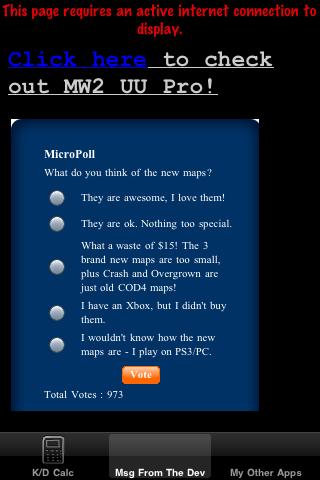 MW2 Ultimate Utility lite – K/D Improver for Modern Warfare 2 Screenshot