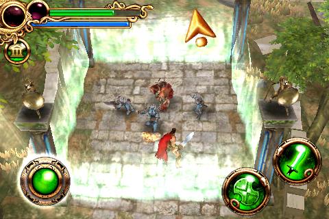 Hero of Sparta™ Lite screenshot #1