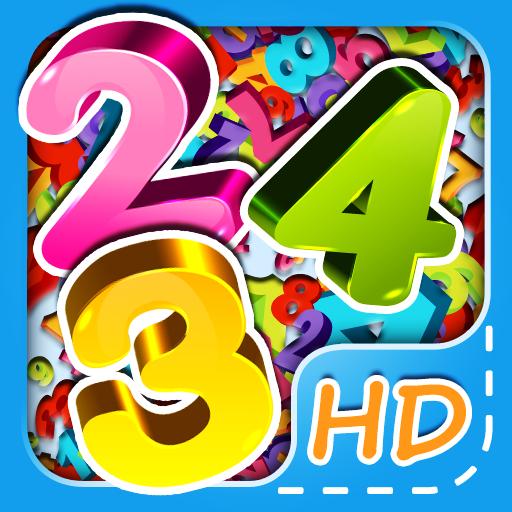 Math Easy HD - 10 steps learning game to teach kids math!