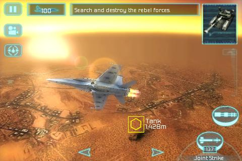 Tom Clancy's H.A.W.X FREE screenshot #1