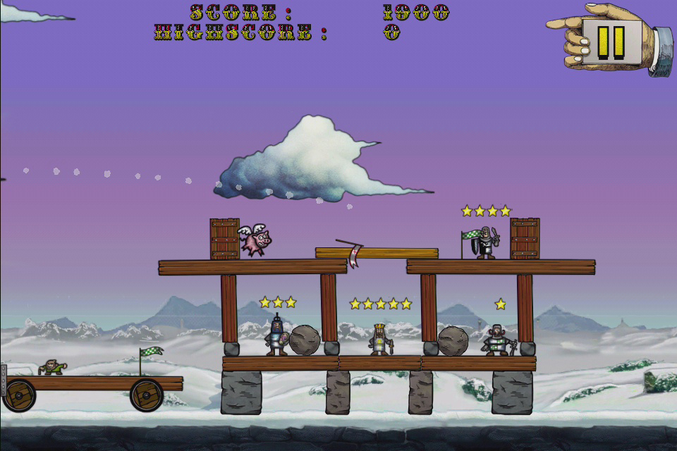 Monty Python's Cow Tossing screenshot 3