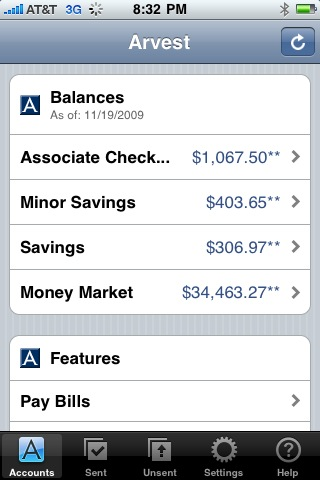 Arvest Mobile Banking App for Free - iphone/ipad/ipod touch