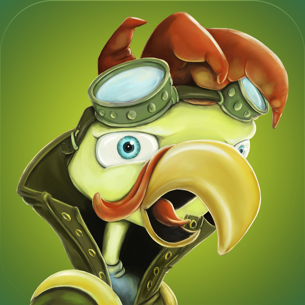 Steampunk Chicken - Free iPhone/iPad Racing Edition