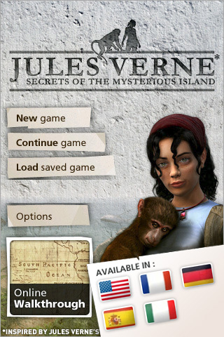 Jules Verne's Secrets Of The Mysterious Island screenshot #1