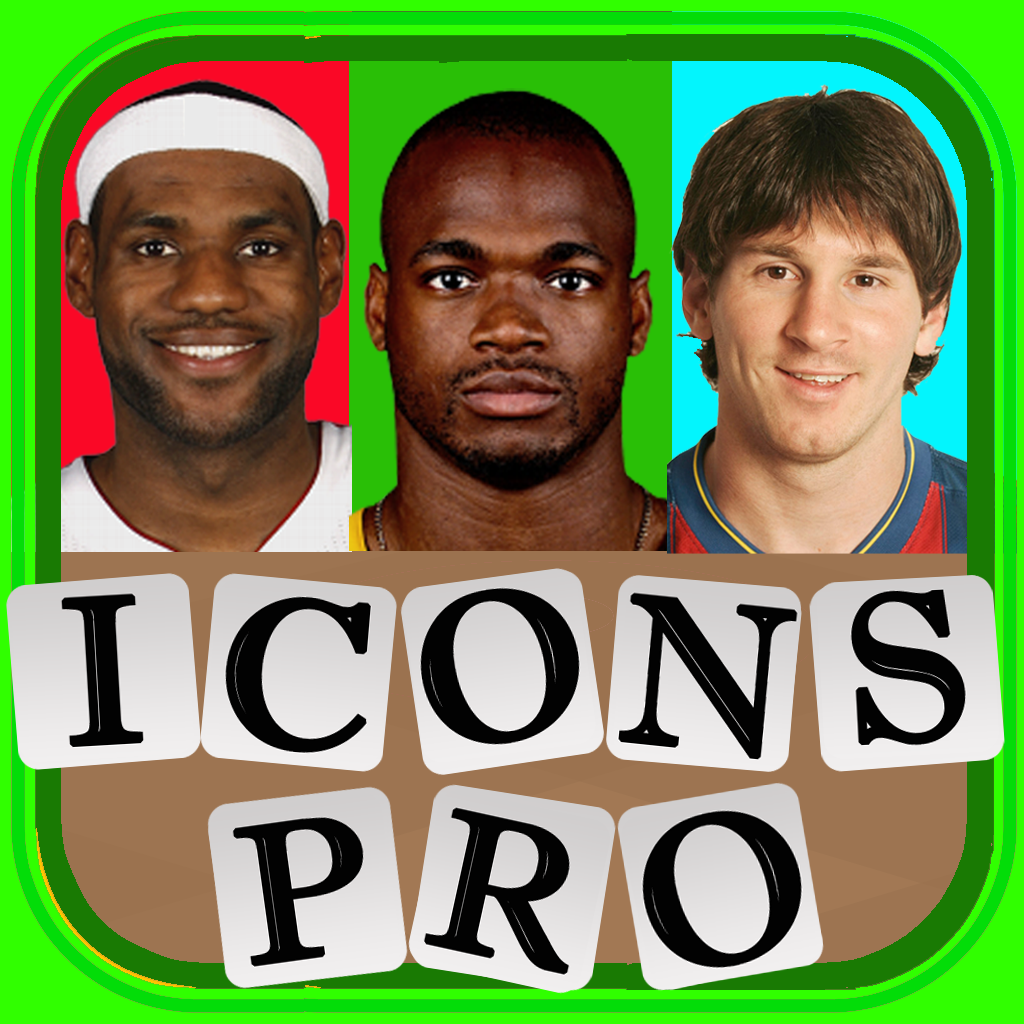 Icons of Sports Word Challenge Pro