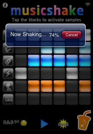 Musicshake Screenshot