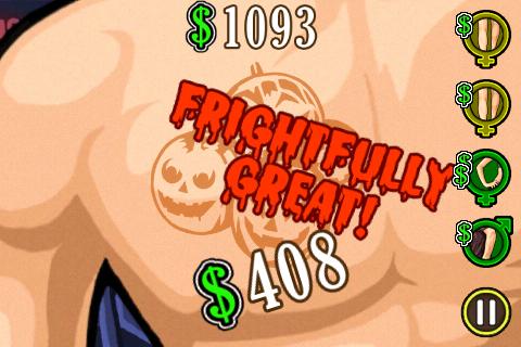 Tattoo Mania - Halloween Edition screenshot 1