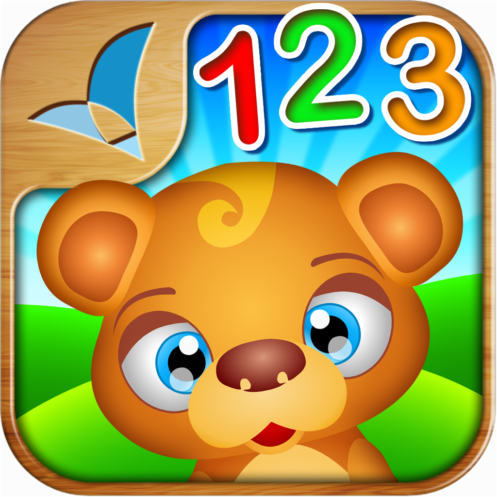 123 Kids Fun NUMBERS - Educational app for toddlers and preschollers
