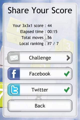 Cubz – 3D Sliding Puzzle Screenshot