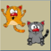 Two Kooky Cats Icon