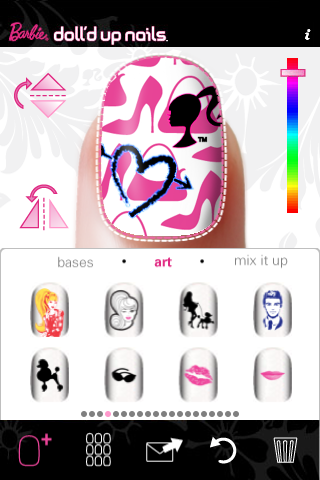 Link Ford Minong >> Barbie® Doll'd Up Nails™ for iPhone Entertainment ...