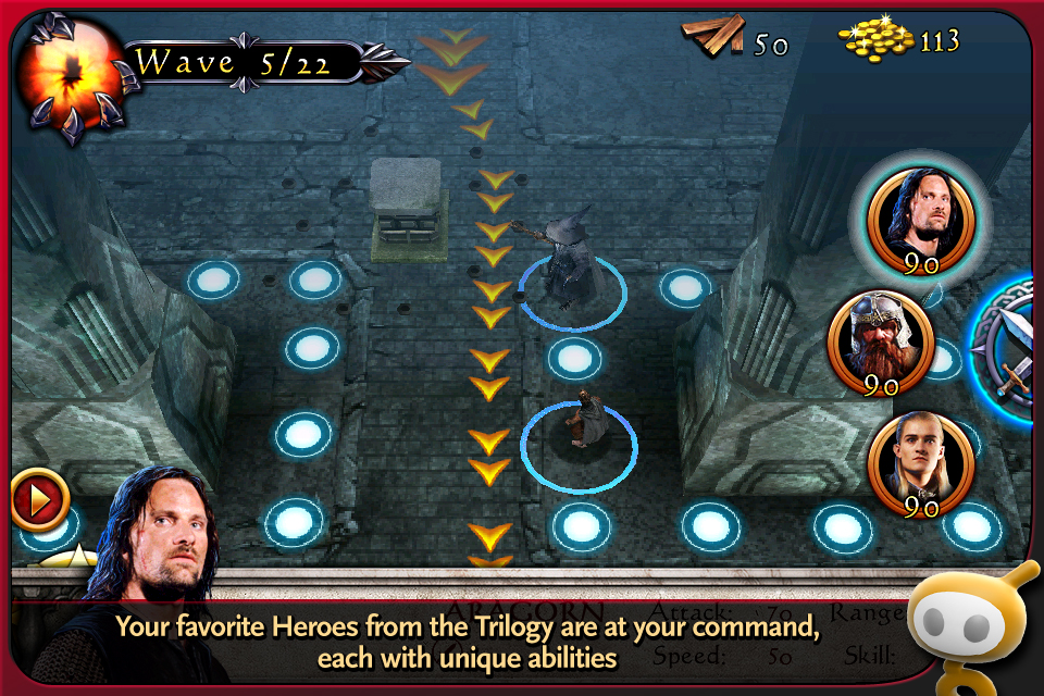 The Lord of the Rings: Middle-earth Defense Prologue screenshot 2