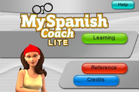 My Spanish Coach Lite screenshot #1