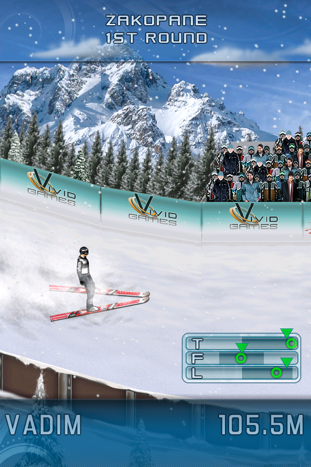 Ski Jumping 2011 screenshot #5