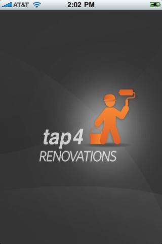 tap4RENOVATIONS Screenshot