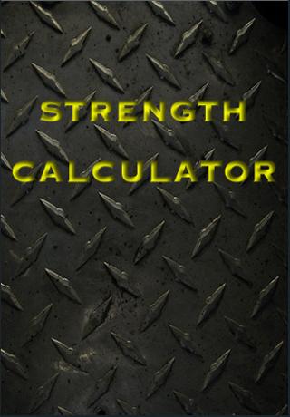 Strength Calculator Screenshot