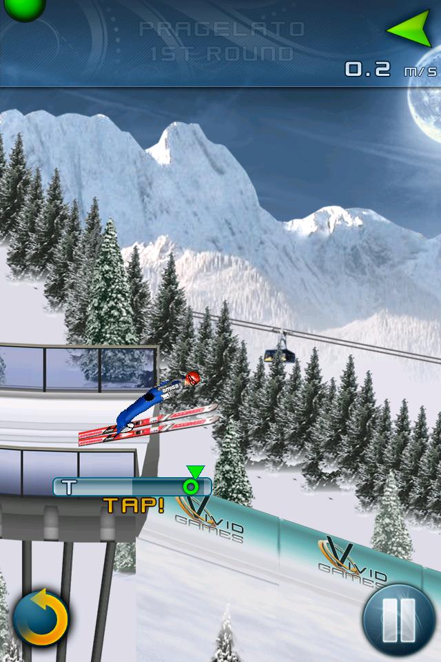 Ski Jumping 2011 - Free screenshot #3