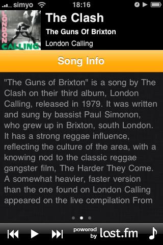 SongStory Screenshot