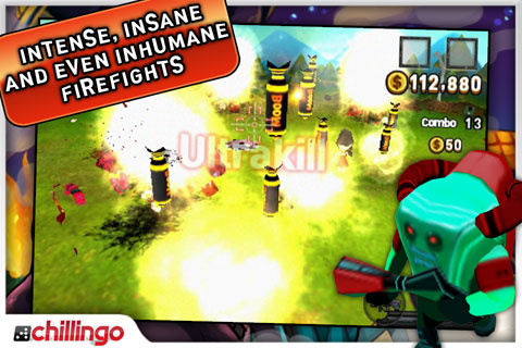 Bugs Wars Lite screenshot #5