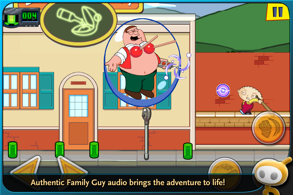 Family Guy Time Warped screenshot #1