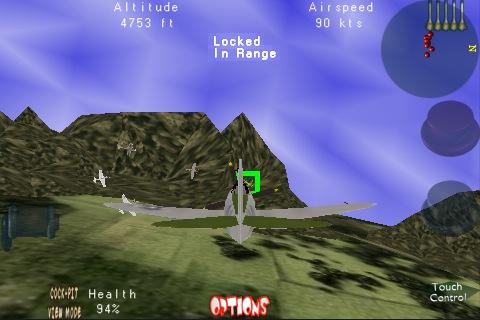 3-D FIGHTER PILOT : Guns of War Screenshot