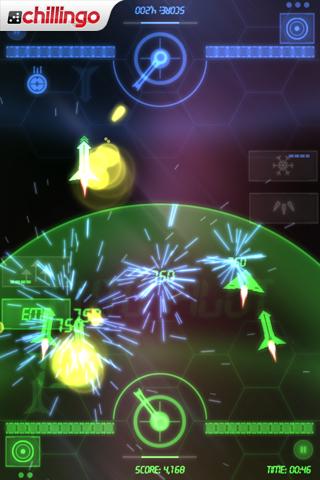 NeonBattle HD Lite screenshot #3