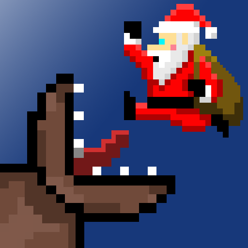 Super Mega Worm Vs Santa