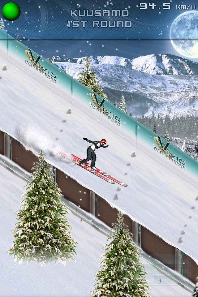 Ski Jumping 2011 - Free screenshot #4