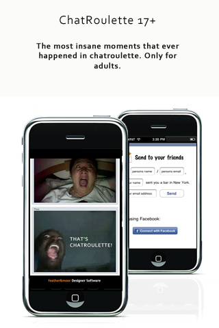 Chatroulette app iphone