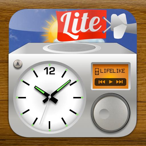 Lifelike Alarm Clock and Weather HD Lite