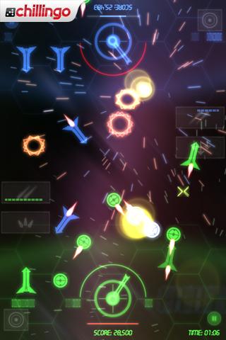 NeonBattle HD Lite screenshot #5
