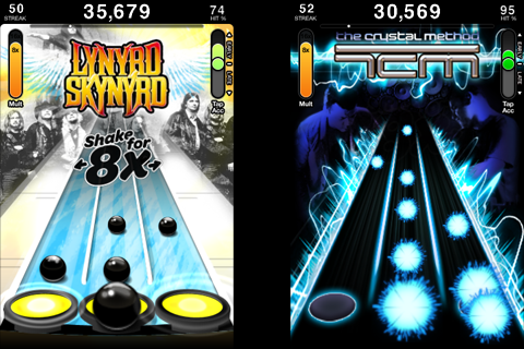 Tap Tap Revenge 3 Screenshot