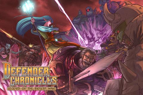 Defender Chronicles lite - Mage version screenshot #1