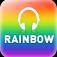 Rainbow Radio Icon
