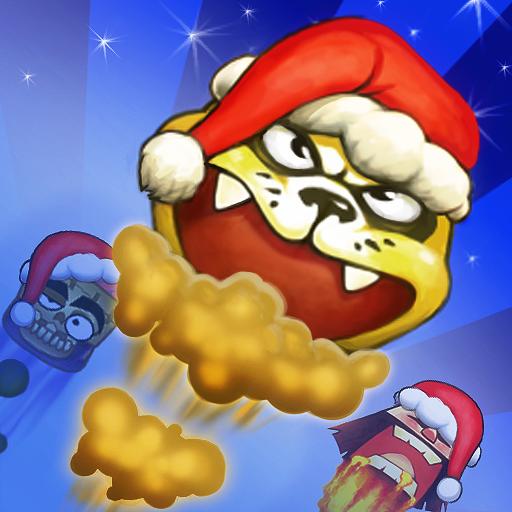 Santa Ninja vs. Panda Claus