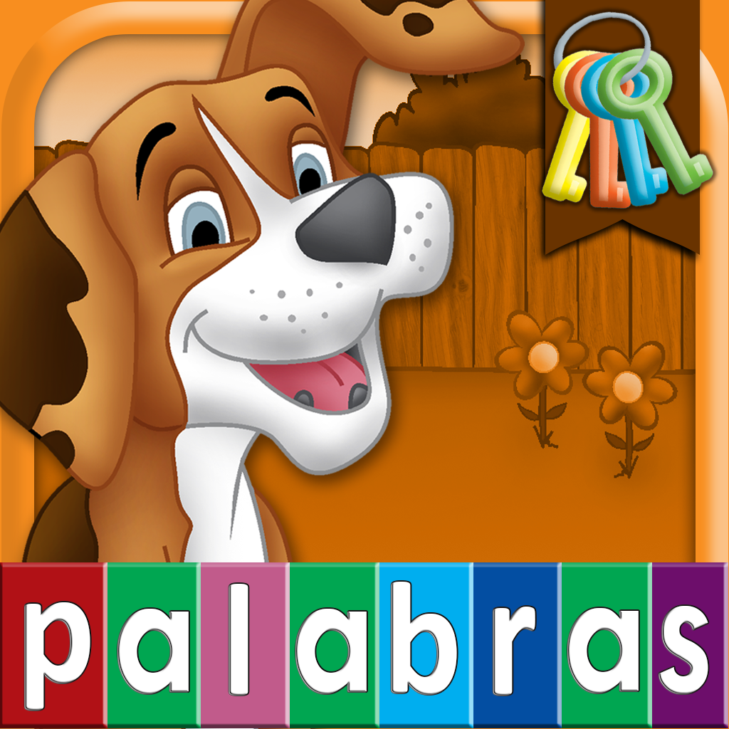 Spanish First Words with Phonics: Preschool Spelling & Learning Word Game for Children