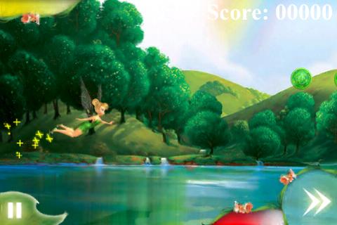 Disney Fairies Fly Lite screenshot #1